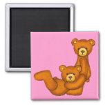 Imán de la letra J del ~ del alfabeto del oso de p