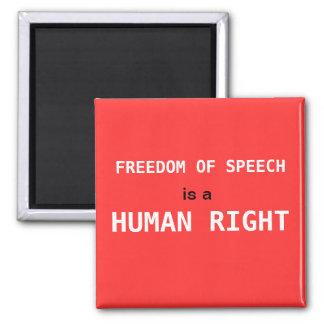 Imán de la libertad de expresión