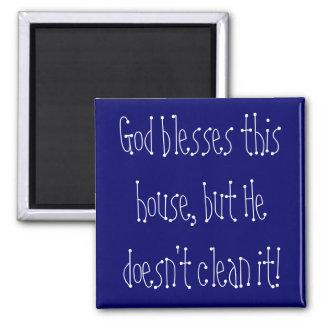 Imán de la limpieza de la casa