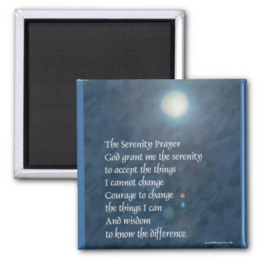 Imán de la luna azul de la serenidad