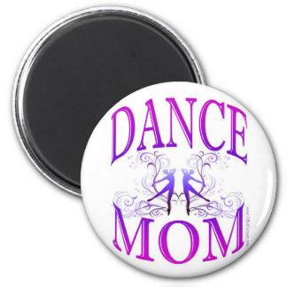 Imán de la mamá de la danza (personalizable)