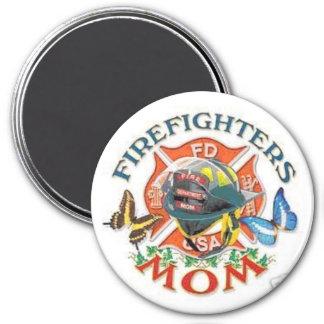 Imán de la mamá del bombero