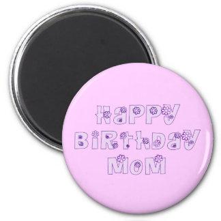 Imán de la mamá del feliz cumpleaños