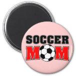 Imán de la mamá del fútbol