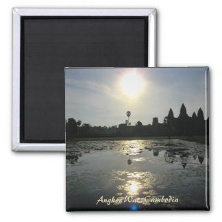 Imán de la mañana de Angkor Wat