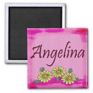 Imán de la margarita de Angelina