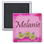 Imán de la margarita de Melanie