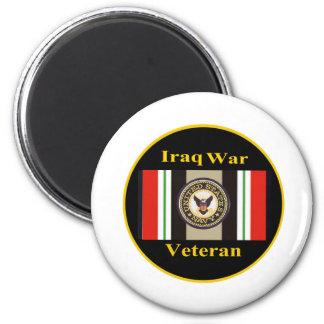 """Imán de la """"marina de guerra"""" del veterano de guer"""