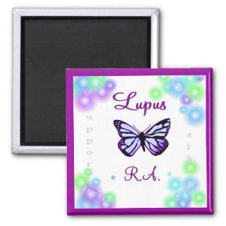 Imán de la mariposa del lupus