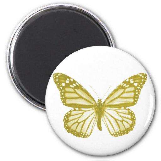 Imán de la mariposa del oro