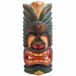 Imán de la máscara 2 de Tiki Escultura Fotográfica