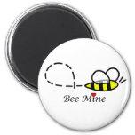 Imán de la mina de la abeja