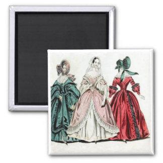 Imán de la moda de las señoras   del Victorian