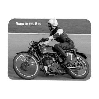 Imán de la motocicleta del vintage