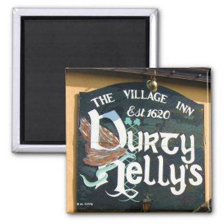 Imán de la muestra del Pub de Durty Nelly