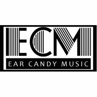 Imán de la música del caramelo del oído escultura fotográfica