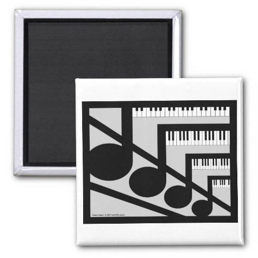 Imán de la música del piano