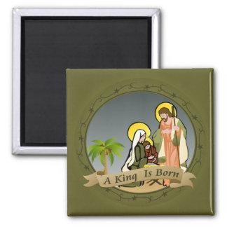 Imán de la natividad (verde) el  