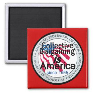 Imán de la negociación colectiva