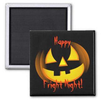 Imán de la noche del susto de Halloween