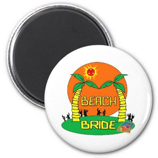 Imán de la novia de la playa