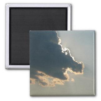 Imán de la nube del hipopótamo
