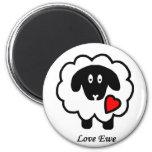 Imán de la oveja del amor