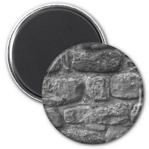 Imán de la pared de piedra