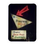 Imán de la parrilla del progreso