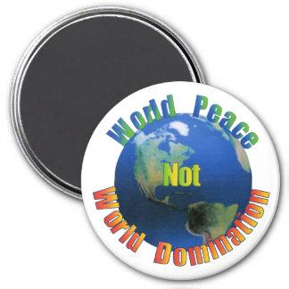 Imán de la paz de mundo