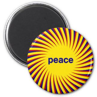 Imán de la paz de Sun