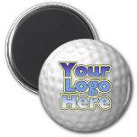 Imán de la pelota de golf del logotipo