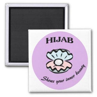 Imán de la perla de Hijab