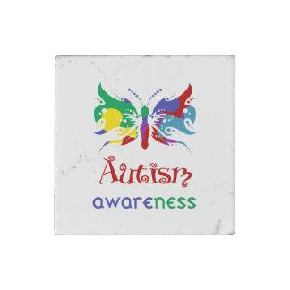Imán de la piedra de la conciencia del autismo imán de piedra
