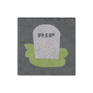 Imán de la piedra de la piedra sepulcral del imán de piedra