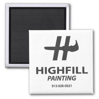 Imán de la pintura de Highfill
