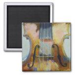 Imán de la pintura del violín