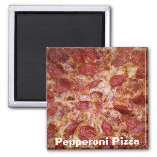 Imán de la pizza de salchichones