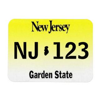 Imán de la placa de NJ