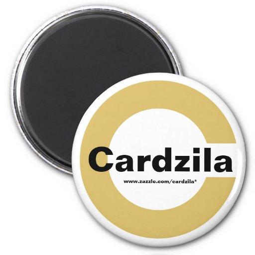 Imán de la plantilla del logotipo de Cardzila