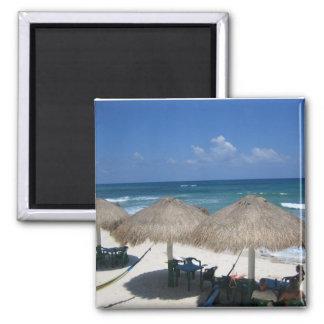 Imán de la playa de Cozumel