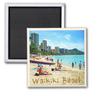 Imán de la playa de Waikiki