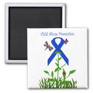 Imán de la prevención de la pederastia de la flor