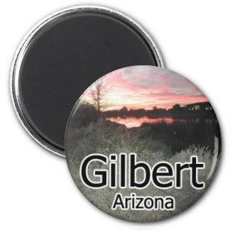 Imán de la puesta del sol de Gilbert Arizona