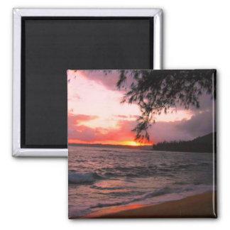 Imán de la puesta del sol de Kauai
