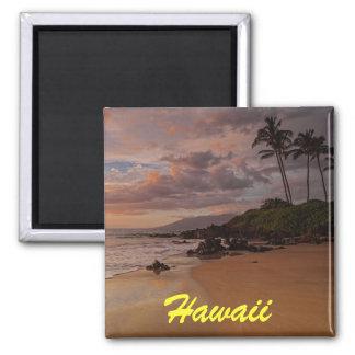 Imán de la puesta del sol de Maui
