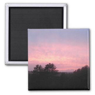 Imán de la puesta del sol del Algonquin