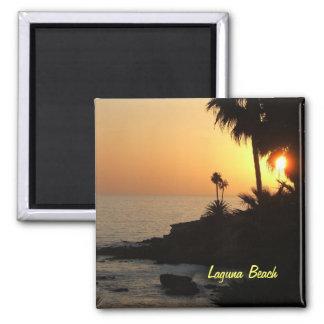 Imán de la puesta del sol del océano del Laguna Be