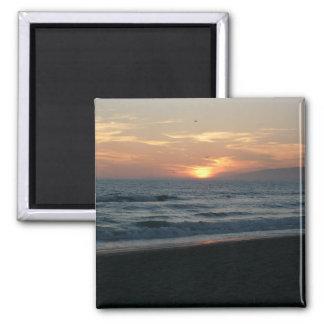 Imán de la puesta del sol del Océano Pacífico