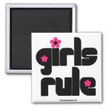 Imán de la regla de los chicas
